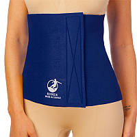 Пояс-сауна для похудения живота и боков неопреновый для женщин и мужчин SUNEX 30 x 100 см Синий (СПО ZD-3052)
