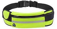 Спортивная сумка на пояс для телефона Зеленый, фото 1