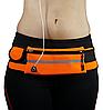 Спортивная сумка на пояс для телефона Оранжевый