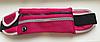 Спортивная сумка на пояс для телефона Розовый текстурный