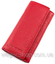 Красная ключница из натуральной кожи Marco Coverna