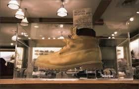 Первые ботинки Timbarland