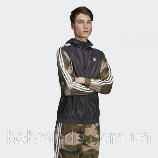 Мужская ветровка adidas CAMOUFLAGE (АРТИКУЛ:DV2049)