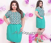 Платье летнее большого размера 50-56 разные цвета