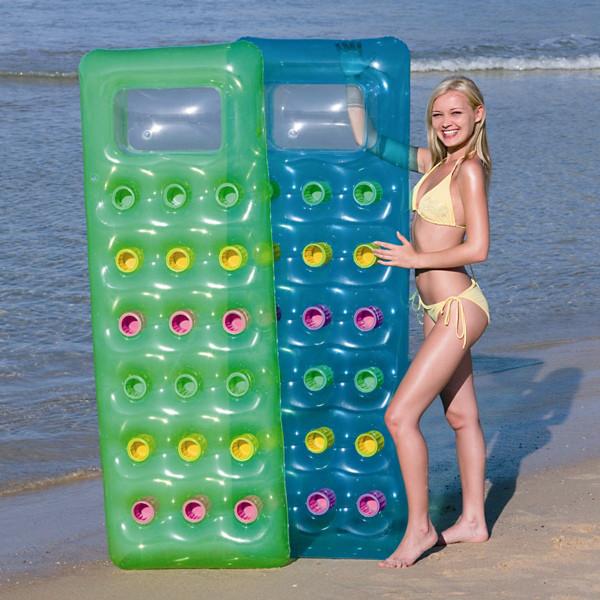 Пляжный надувной матрас 188х71 см