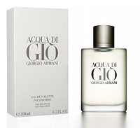 Мужская оригинальная туалетная вода Giorgio Armani Acqua di Gio, 200 ml NNR ORGIN  /08