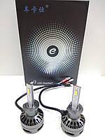 Aвтолампы LED E9, H1, 6000K, 10000Lm, 80W, CANBUS