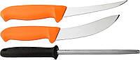 Набор Morakniv Hunting Set Orange 2 Knives+Sharpener