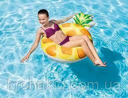 """Надувний круг для плавання Intex 56266 NP """"Ананас"""" 117см, від 6-ти років, фото 3"""