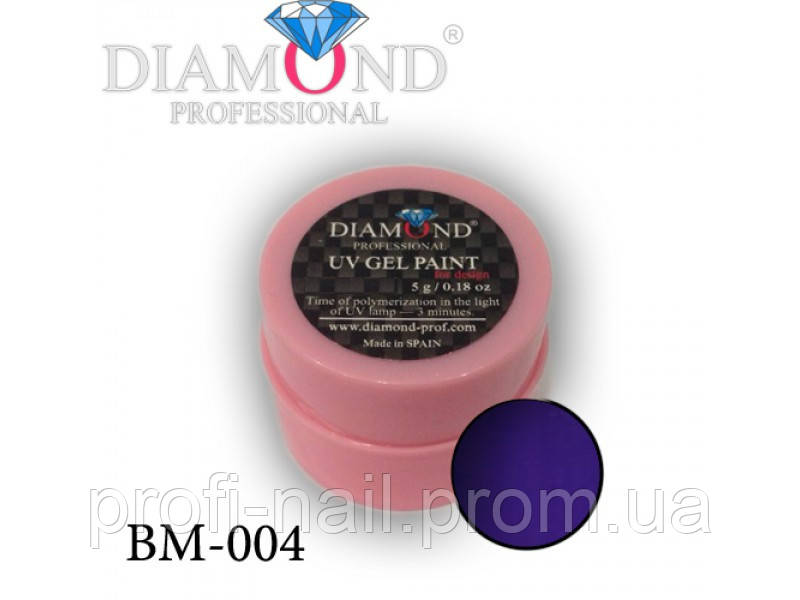 Гель-фарба Diamond Professional BM-004