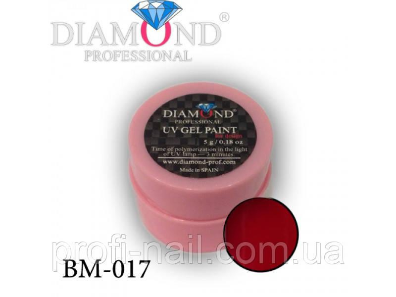 Гель-фарба Diamond Professional BM-017