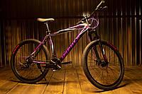 """Велосипед IMPULS ANITA 24"""" Рама 12"""" черно-малиновый"""