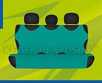 Автомобильные майки KEGEL задние зелёна Комплект