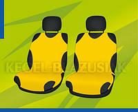 Автомобильные майки KEGEL передние жолтая Комплект