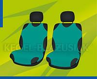 Автомобильные майки KEGEL передние зеленая (шт.)