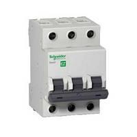Автоматический выключатель EZ9 3Р, 10А, B, фото 1