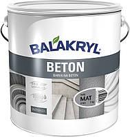 Краска Balakryl Beton серая, 7 кг