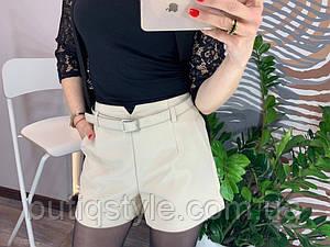 Восхитительные, женские, коттоновые шорты на атласной подкладке