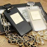 Chanel чехол Perfume Bottle iphone 5/5S в розничной упаковке