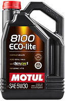 Motul 8100 ECO-LITE SAE 5W30 (5L) API SN, ILSAC GF-5,