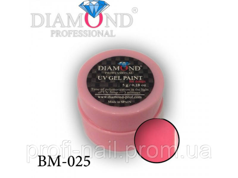 Гель-фарба Diamond Professional BM-025