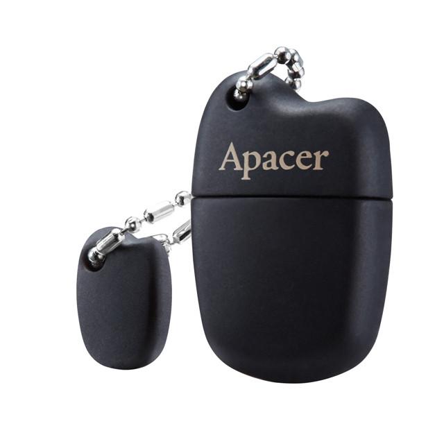 Флеш USB Apacer AH118 8Gb Black (AP8GAH118B-1)