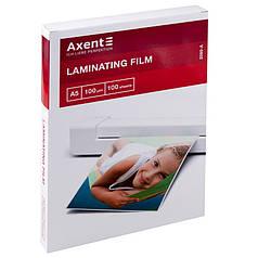 Плёнка для ламинирования Axent 2080-A 100 мкм, A5, 154х216 мм, 100 штук