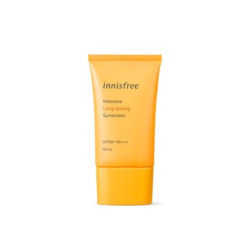Солнцезащитный водостойкий крем Innisfree Intensive Long-lasting Sunscreen SPF50+ PA++++ 50ml