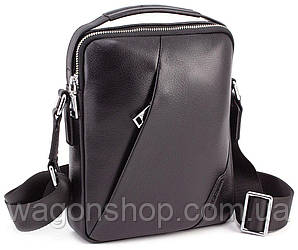 Кожаная мужская сумка с ручкой Marco Coverna