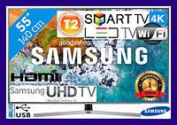 Телевизор Samsung Самсунг 55 дюймов 4K Ultra HD Smart TV UE55NU7400 Т2 WiFi USB LED Телевізор (140см) 2018 (A), фото 1