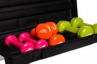 Набір гантелей в кейсі 6 кг 4103 R143658