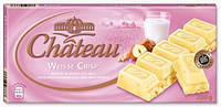 Шоколад белый с криспами и фундуком Chateau Weisse Crisp 200 г.