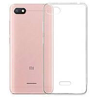 Чехол-накладка Case для Xiaomi Redmi 6a силиконовый прозрачный