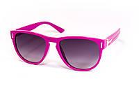 Детские солнцезащитные очки на девочку  малиновые
