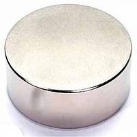 Неодимовый магнит (диск) 50х30мм