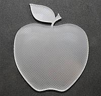 Акриловая фигурка для творчества яблоко. Размер 65*80мм, толщина 6 мм