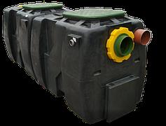 Сепараторы нефти с отстойником и двойным байпасом OIL SLB от 30 до 250 л/сек.