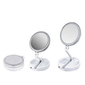 Настільне дзеркало з Led підсвічуванням Fold Away, фото 2