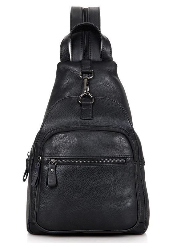 cd923f2907fd Компактный стильный мужской кожаный рюкзак сумка бананка мессенджер -  МАГАЗИН КОЖАНЫХ АКСЕССУАРОВ И ОБУВИ в Киеве