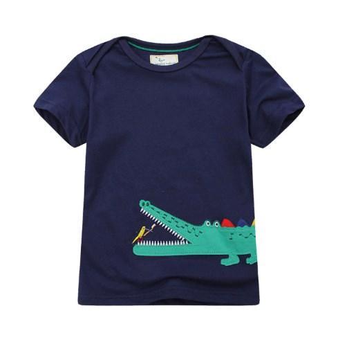 Футболка Крокодил (т.син.) 5Т