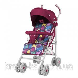 Детская прогулочная коляска - трость Walker BabyCare Китай Crimson 999114