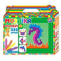 """Мозаика """"Колибри 2"""" (222 детали) 1097 sco"""
