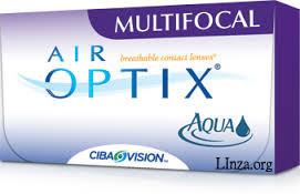 Контактные линзы AirOptix Aqua Multifocal 3линзы (1 месяц)