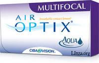 Контактные линзы AirOptix Aqua Multifocal 4линзы (1 месяц)
