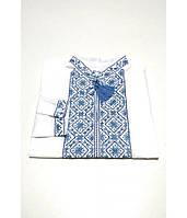 Дитяча сорочка білого кольору М-1012-1