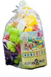 """Большой блочный конструктор """"Kinderway: Baby Blocks"""" с крупными деталями от 1 года, (30 дет)  scs"""