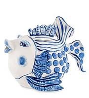 """Фарфоровый заварочный чайник """"Рыба"""" (Pavone)"""