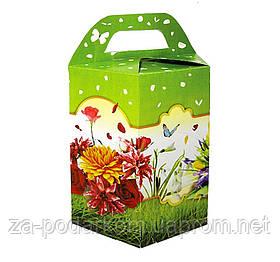 """Солодкий подарунковий набір в коробці """"Літо"""" вага 750г"""