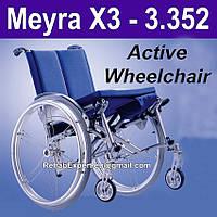 Активная инвалидная коляска Meyra X3 Active Wheelchair, фото 1