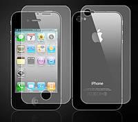 2в1 Пленки защитные для Apple iPhone 4 4s